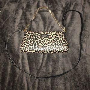 Kate Spade Small Leopard Crossbody